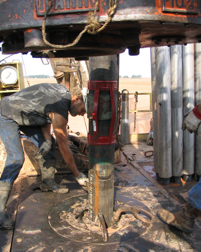 drilling for oiil
